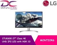 "[LG] 27UK600 27"" Class 4K UHD IPS LED Monitor with HDR 10"