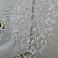Honana WX-C9 1x2m Fashion European Style Voile Door Window Curtain Room Divider Sheer Curtain Home Decor