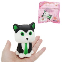 Tie Fox Squishy 15CM Slow Rising With Packaging Collection Gift Soft Toy
