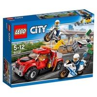 歐美新款!樂高 LEGO 60137 追蹤重型拖車/Police Tow Truck Trouble