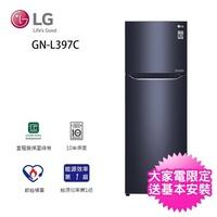 【LG 樂金】315公升◆一級能效直驅變頻上下門冰箱(GN-L397C)