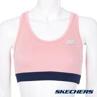 【NoFake】Skechers 女運動內衣 健身/慢跑背心 蜜粉-SAWU185301PMCR
