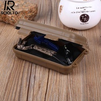 (Free Shipping for WM - Klang Valley,WM - Non Klang Valley,EM - Sabah)SCIOLTO SPORTS Outdoor Shockproof Waterproof Small EDC Boxes Survival Holder Travel Case