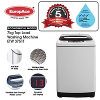*1 Day Sale* EuropAce 7 KG Top Load Washer - Honeycomb Drum - *5 YEARS MOTOR WARRANTY* 3 TICKS