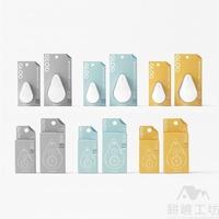 日本國譽 KOKUYO Nendo 聯名款 GLOO 黏貼系列 2way 好黏便利貼 - 耕嶢工坊