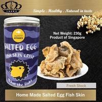 Home Made Salted Egg Fish Skin★Crispy★