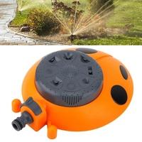 สวนสนามหญ้ารดน้ำเครื่องรดน้ำต้นไม้อัตโนมัติ 360 องศาการฉีดน้ำ Sprinkler