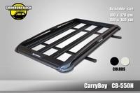 แร็คหลังคาอลูมิเนียมแครี่บอย CB-550N ขนาด100*160cm *พร้อมคานขวาง