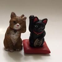 昭和貓 招財貓 yujin