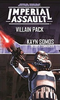 Imperial Assault: Kayn Somos, Trooper Commander Villain Pack