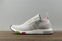 Adidas Official NMD R1 x Gucci  MENS Sport Running Shoe White