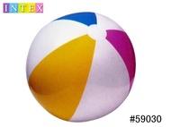 ของแท้ INTEX-59030 สี่สีลูกบอลชายหาด/ลูกบอลชายหาด/โปร่งใสลูกพองเส้นผ่าศูนย์กลาง 61 ซม.