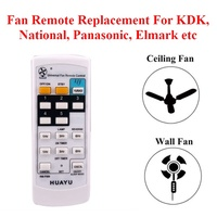Universal Fan Remote Replacement For KDK Panasonic Elmark Ceiling Fan and Wall Fan