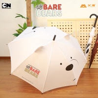 We Good Bear Brother Our Bare Bear Polar Bear Grizzly Bear PANDA we Bare Bears Long Handle Umbrella CN