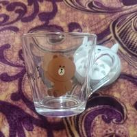 熊大玻璃杯