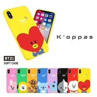Official Kpop BTS BT21 Soft Jelly Colorful Phone Case Cover For Samsung Galaxy