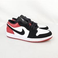 AIR JORDAN 1 LOW 553558-116 麂皮 低筒 AJ1黑紅 喬丹一代籃球鞋 玉米潮流本舖