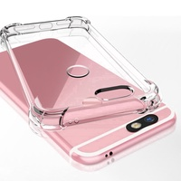 OPPO R11 R11s Plus Casing Transparent Clear Soft TPU Case Back Cover