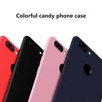authentic Candy Phone Cases For Huawei P9 P10 selfie Nova 2 2S P20 lite soft Matte Phone Cover for H