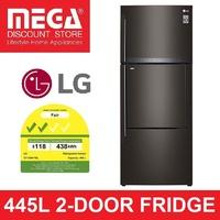 LG GT-D4417BL 445L 2-DOOR FRIDGE (2 TICKS) + $50 GROCERY VOUCHER BY AGENT
