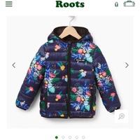 Roots兒童羽絨外套
