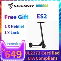 Ninebot E Scooter By SEGWAY ES2 UL2272 Certified Electric Scooter