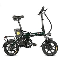 FIIDO L1 48V 250W 14.5h 14 Inches Folding Moped Bicycle 25km/h Max 90KM Mileage Electric Bike