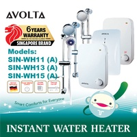 Avolta • Instant Water Heater • Value for Money • Power Selector • SIN-WH11(A) / 13(A) / 15(A)