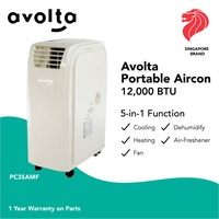 Avolta Portable Aircon PC35AMF 12000 BTU