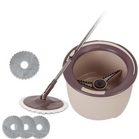 BOOMJOY M10 Spin Mop New Spin Flat Mop 360 and Bucket