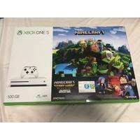 Microsoft Xbox One S 500GB 全新未拆封 再送三款遊戲