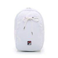 FILA 單肩雙肩兩用輕量後背包-白 BPT-1105-WT