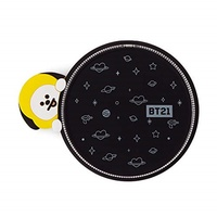BT21 BT21 Official Merchandise by Line Friends - CHIMMY Character Wireless QI Phone Charger Pad 10W,