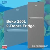 Beko RDNT250I50VZP / 2 Door Fridge 250l