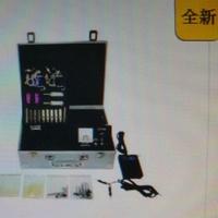 升級免費加贈40樣送鋁合金工具箱光碟雙機2500元微刺青全台灣最低工廠批發商魁紋身刺青機-紋身機初學者套裝組紋身機刺青機