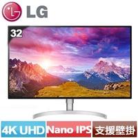 LG 32型 4K UHD Thunderbolt 3 液晶螢幕 32UL950-W