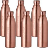 Six Copper water Bottles