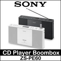 Sony ZS-PE60 Portable Slim CD Player Boombox Speaker CD AUX CD AM FM USB