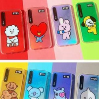 BT21 OFFICIAL Phone Case Shiny (IPhone 7/8/7+/8+/X)