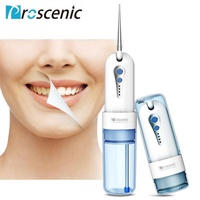 Proscenic Oral Irrigator Cordless Dental Flosser Portable Tooth Pick Dental Water Jet Oral Irrigation with Rechargeable battery