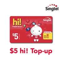 Singtel $5 hi! Top-up