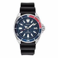 Made In Japan Brand New 100% Authentic Seiko Prospex Pepsi Blue Red Bezel Samurai Automatic Mens Diver Watch SRPB53J