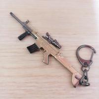 絕地求生SCAR-L 吊飾 PUBG  大逃殺 鑰匙圈 平底鍋 吃雞 包包吊飾鑰匙圈