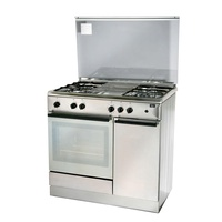 TURBO T9640WELSSV FREE STANDING COOKER (90CM) WITH ELECTRIC OVEN