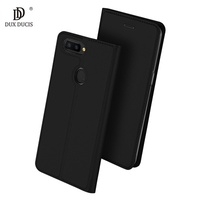DUX DUCIS Luxury Flip Holster For Coque OPPO R11s Plus Case 6.43 inch Leather Skin Book Cover For OP