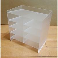 壓克力面膜置物盒  壓克力展示架 壓克力架 壓克力盒 單排 雙排(900元)