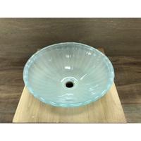 強化玻璃面盆 洗臉盆 上盆 碗公盆 圓形(CBL12S-SW)