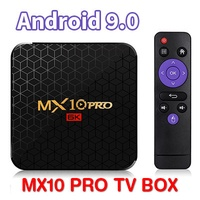 LOCAL WARRANTY ★ Android Smart TV Box MX10 PRO Android 9.0 USB3.0 ★ IPTV UNBLOCK Xiaomi