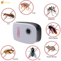 Multifunctional Ultrasonic Electronic Repeller Flies Spiders Lizards Insect