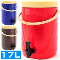不鏽鋼17L茶水桶D084-TY17L(17公升冰桶開水桶.保溫桶保溫茶桶.不銹鋼保冰桶保冷桶